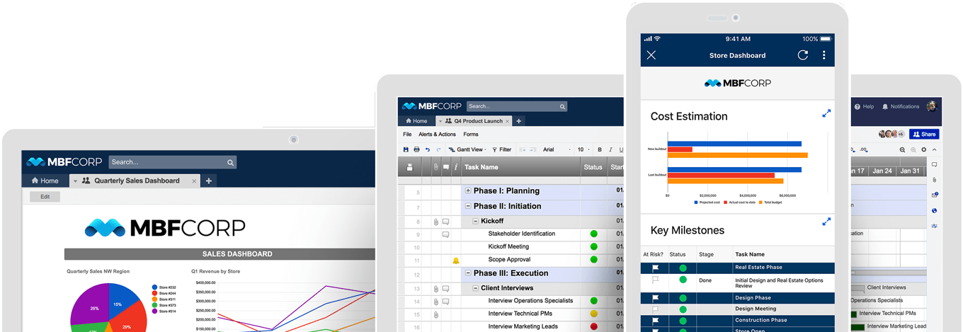 Smartsheet on Devices
