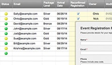 Event Registration Template with Web Form