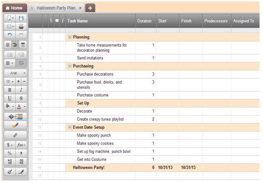 Smartsheet Tips Creating A Work Back Schedule Smartsheet