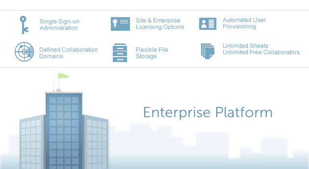 The Smartsheet enterprise platform
