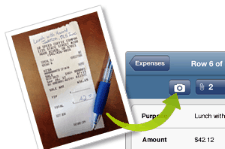 Smartsheet expense tracking