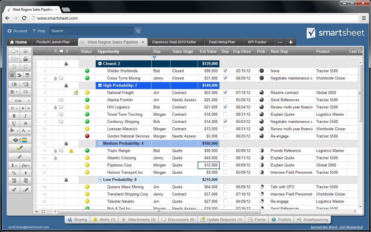Today's Release: A New Look for Smartsheet | Smartsheet