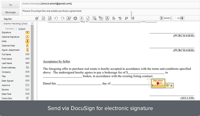 how to get e signature
