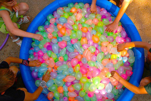 how to make a big water balloon