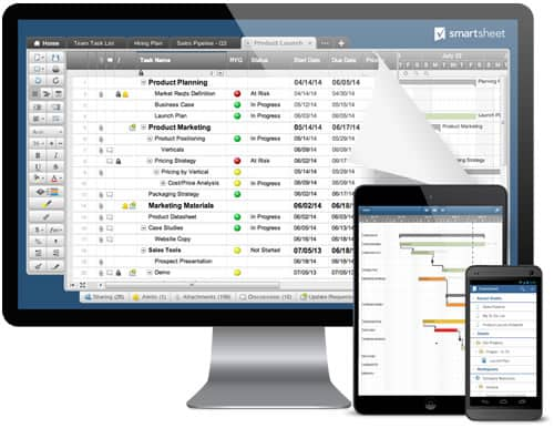 Smartsheet Work Management And Process Automation Solutions