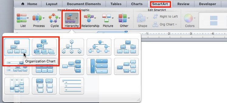 Create an Organization Chart in Word | Smartsheet