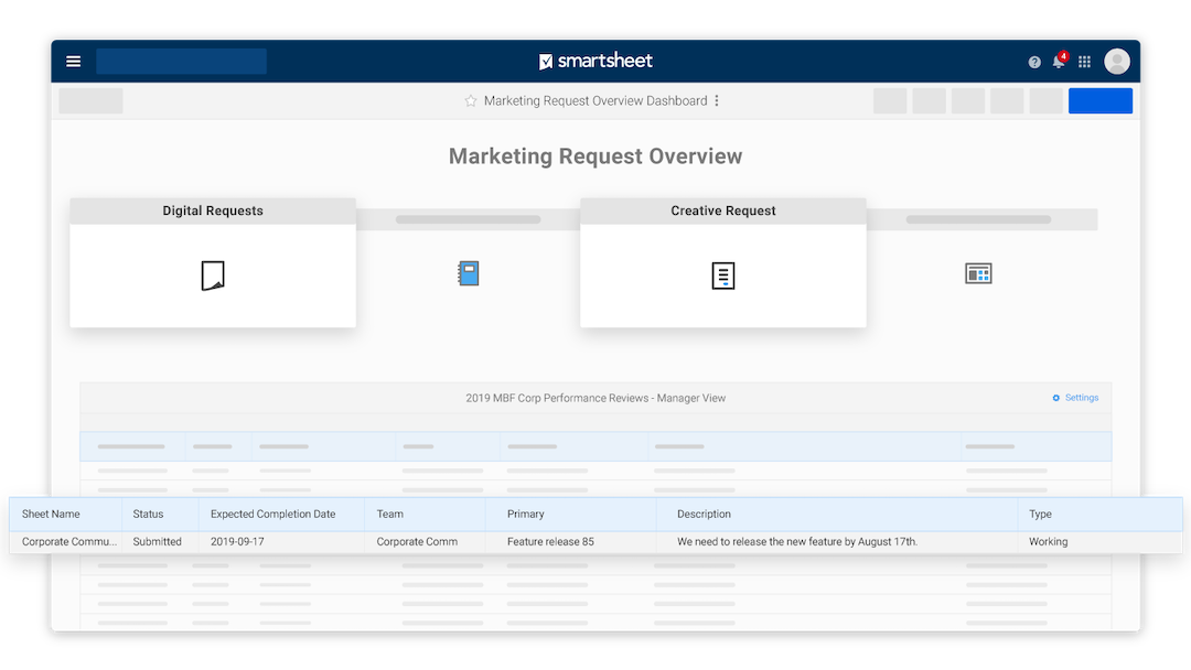 The Smartsheet Accelerator for Marketing Shared Services