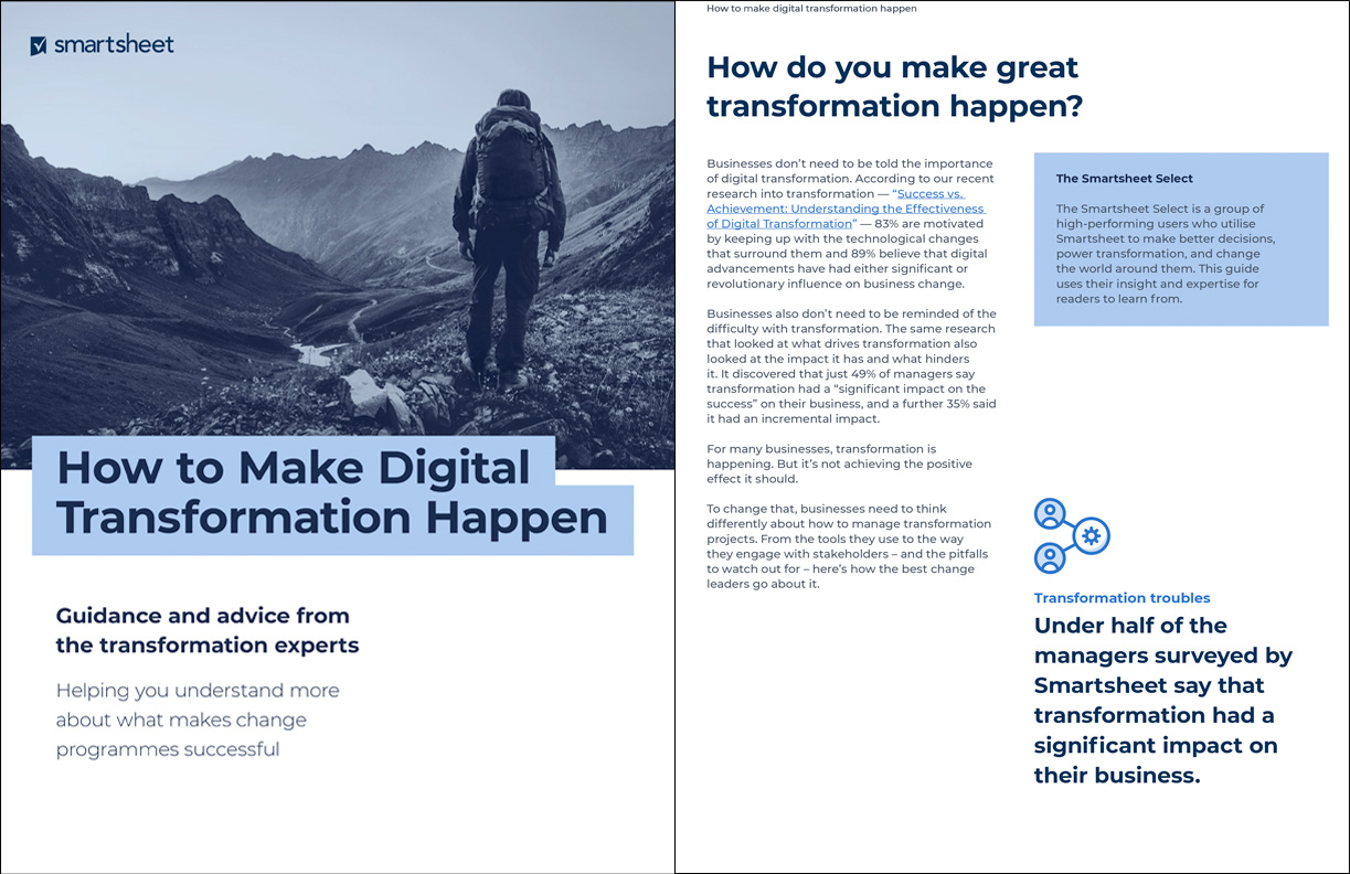 How to make digital transformation happen