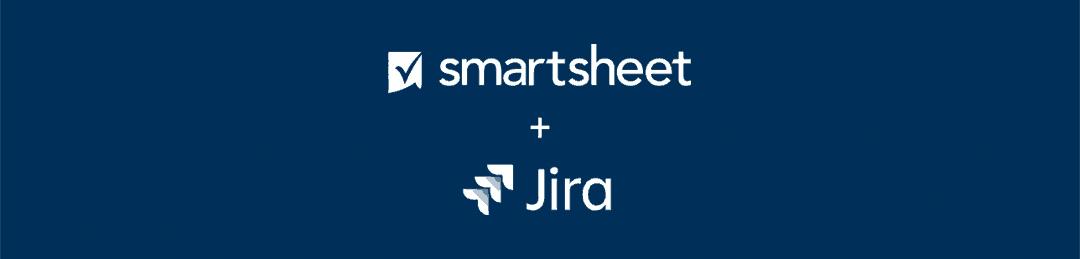 Smartsheet + Jira logos