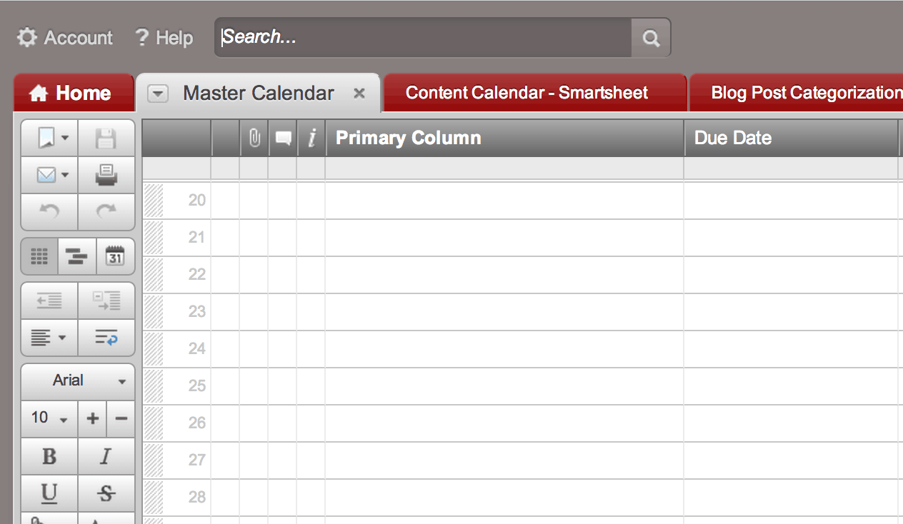 Tip Create A Calendar Dashboard In 7 Quick Steps Smartsheet