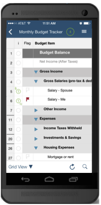 a monthly budget worksheet you will actually use