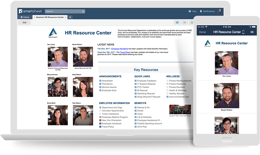 The Ultimate Guide to HR Portals | Smartsheet
