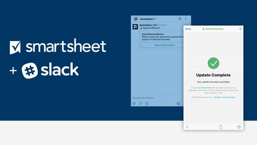 Smartsheet for Slack