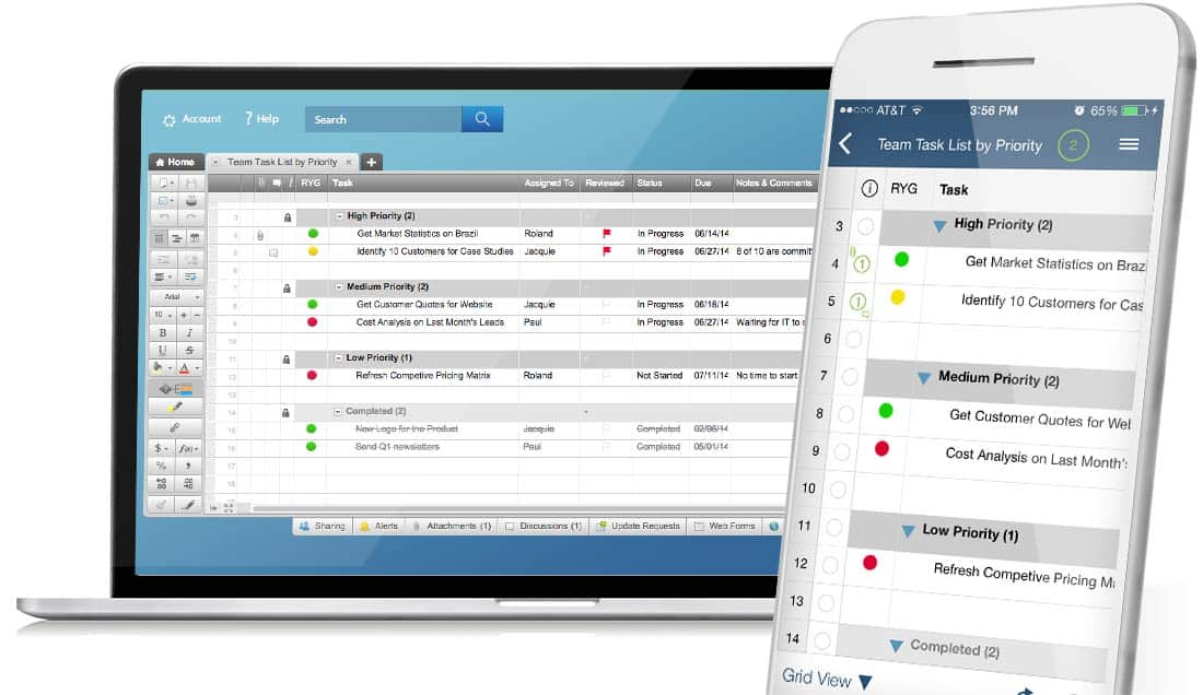 Smartsheet Project Management Software