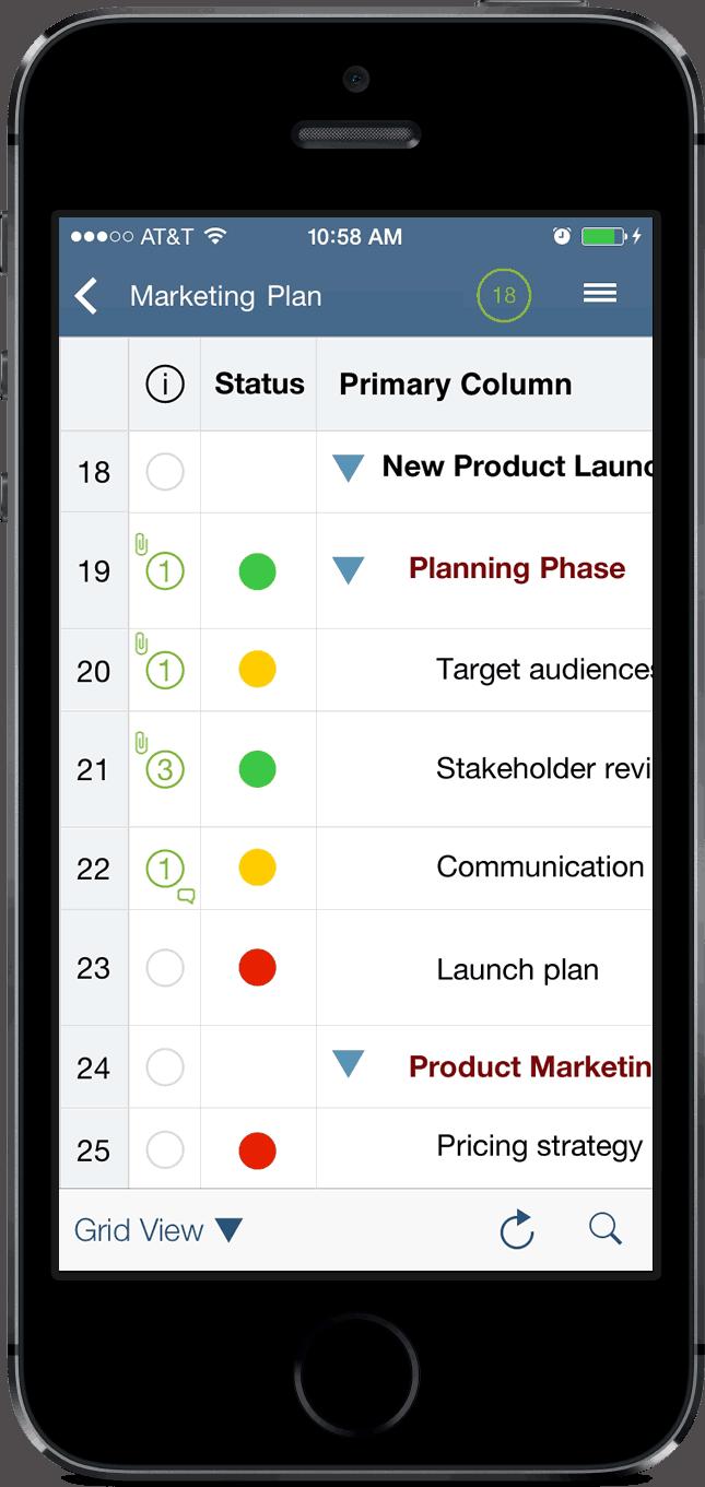 Smartsheet Launches Version 20 Of Ipadiphone App Bringing Fully