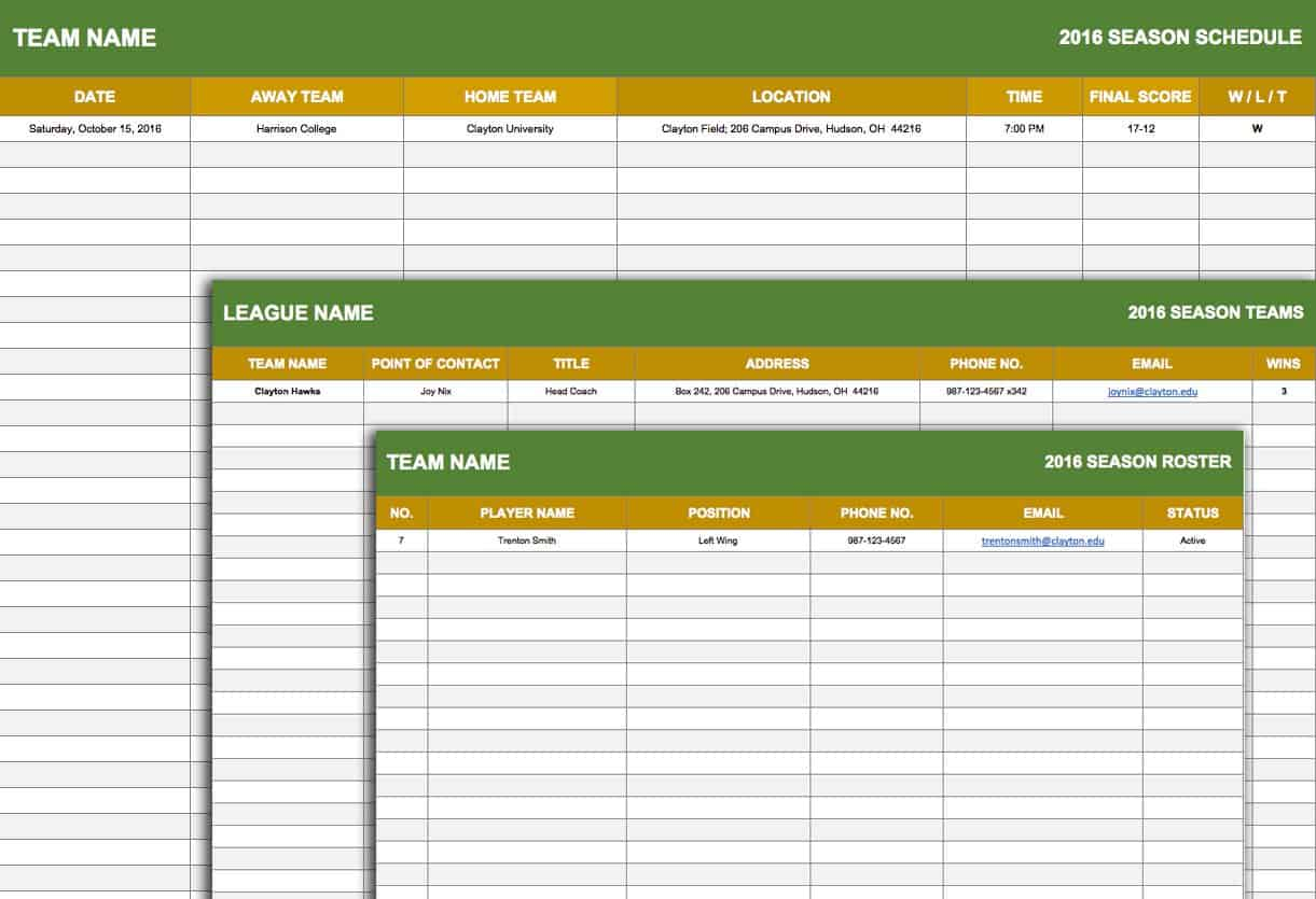Free weekly schedule templates for excel smartsheet sport schedule template maxwellsz