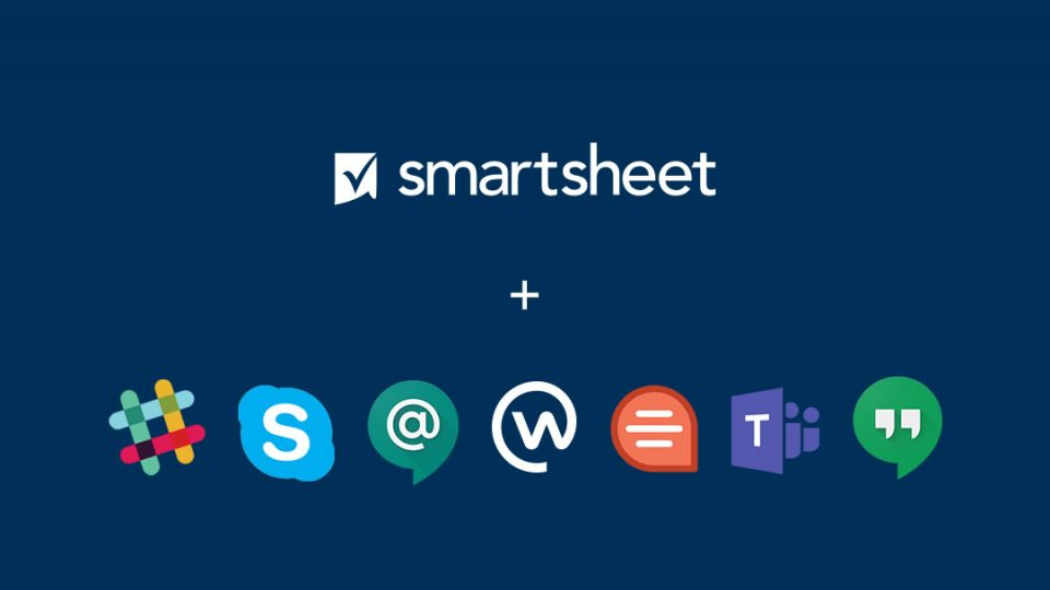 smartsheet messaging integrations