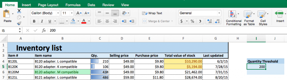Excel Conditional Formatting How-To | Smartsheet