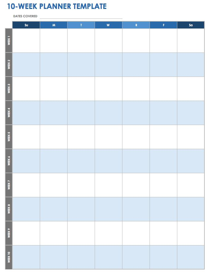 photograph about Productivity Planner Templates named 28 Free of charge Season Manage Worksheets Smartsheet