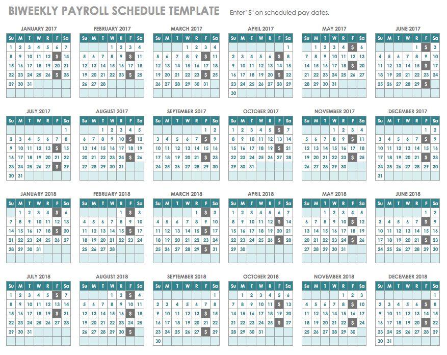 15 Free Payroll Templates | Smartsheet