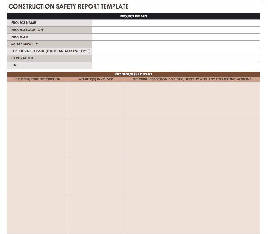 Construction Daily Reports Templates + Tips|Smartsheet