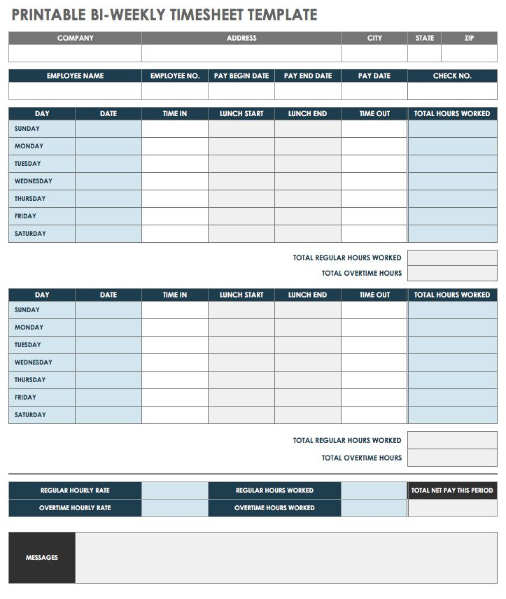 photo relating to Free Printable Check Register With Running Balance identified as 17 Absolutely free Timesheet and Period Card Templates Smartsheet