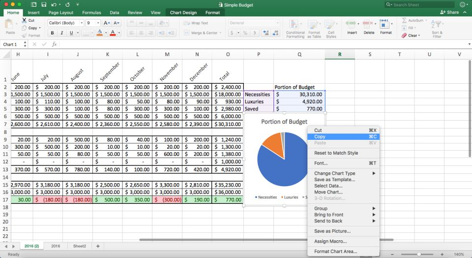 How to Make a Spreadsheet in Excel, Word, and Google Sheets ...