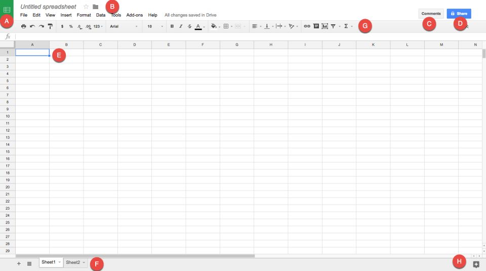How to Make a Spreadsheet in Excel, Word, and Google Sheets