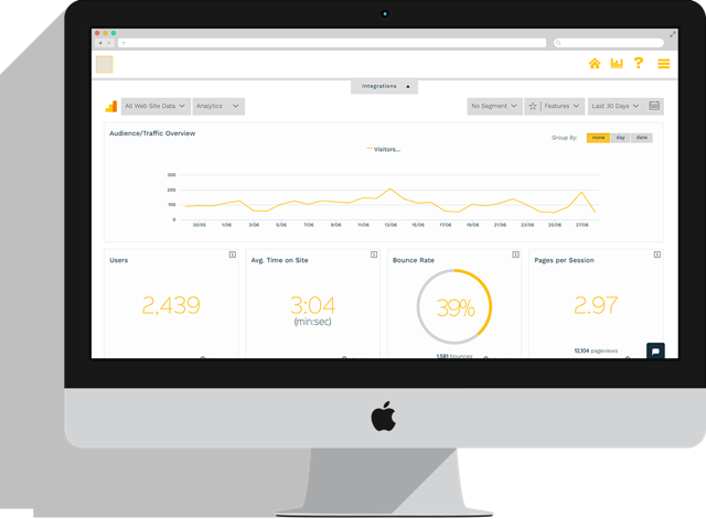 Example of Small Business Dashboard