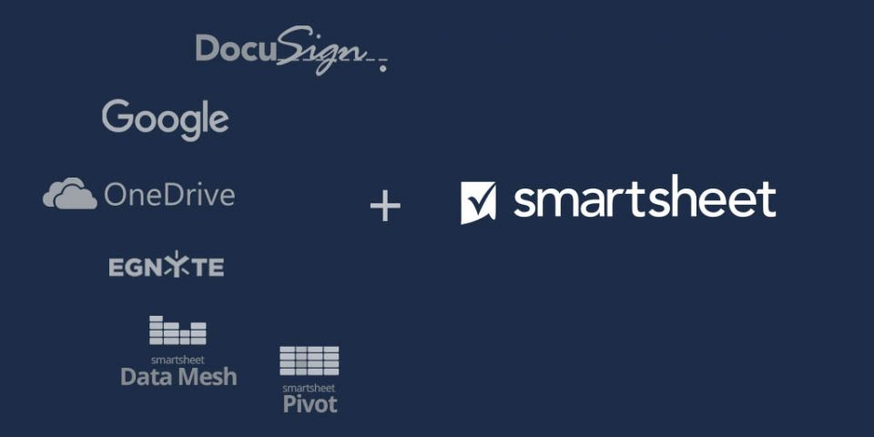 Smartsheet add-ons and integrations for construction professionals