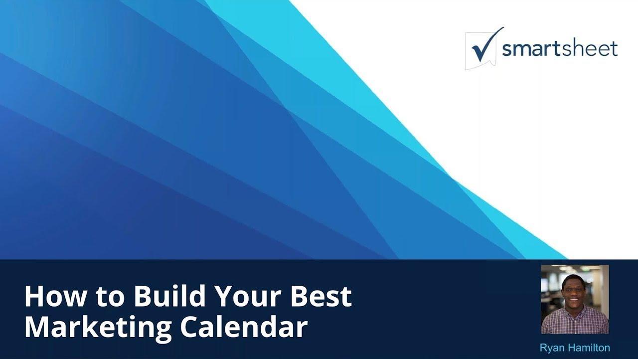Build Your Best Marketing Calendar