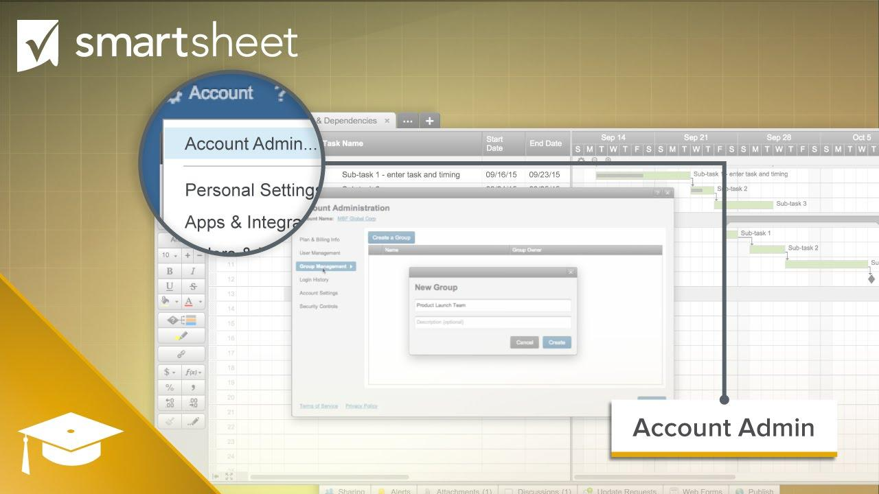 Groups in Smartsheet