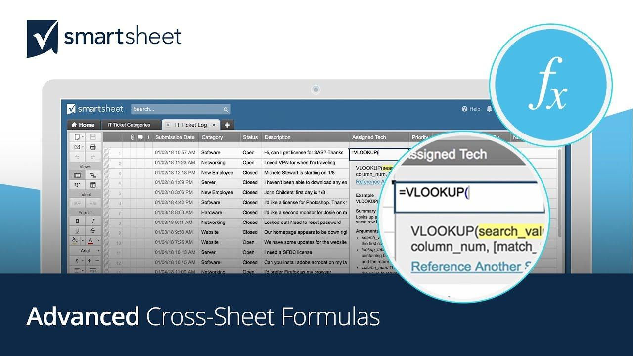 Advanced Cross-Sheet Formulas