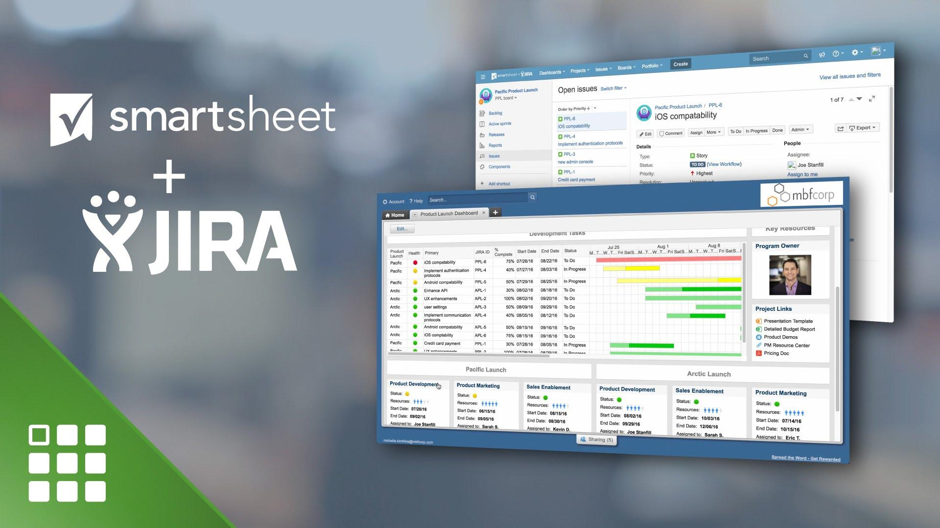 Work Smarter with JIRA and Smartsheet