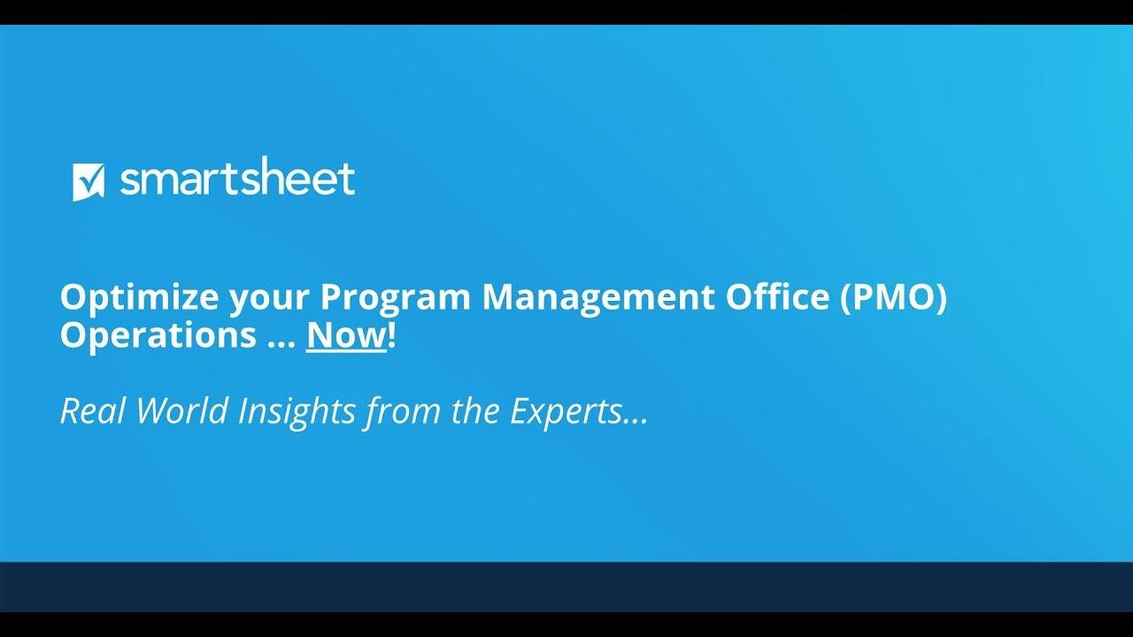 Optimize your Program Management Office (PMO) Operations Now!