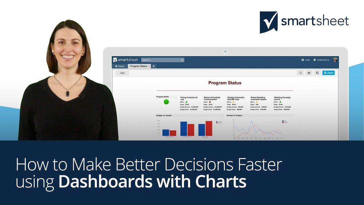 How to Make Better Decisions Faster using Dashboards with Charts