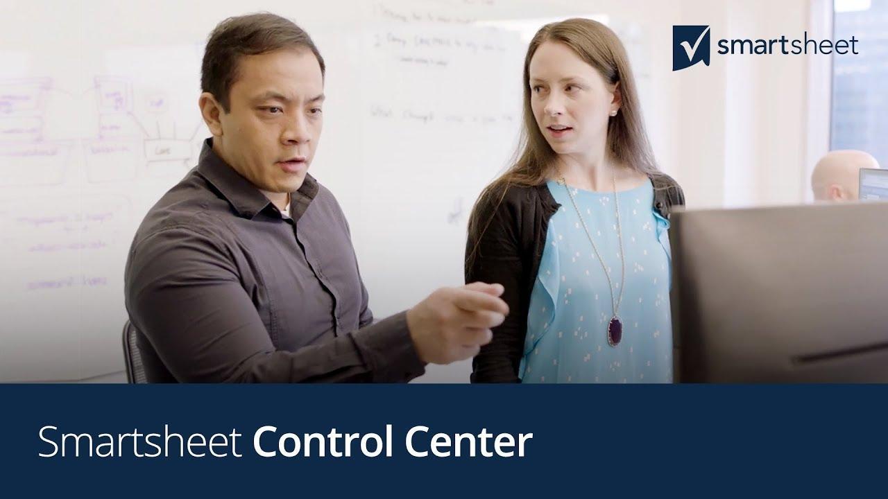 Smartsheet Control Center
