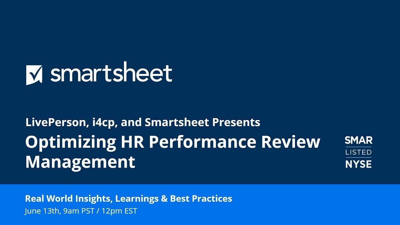 A New Way of Optimizing HR Performance Review Management