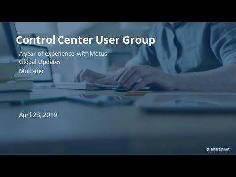 A year of experience with Motus, Global Updates, and multi-tier (Control Center)