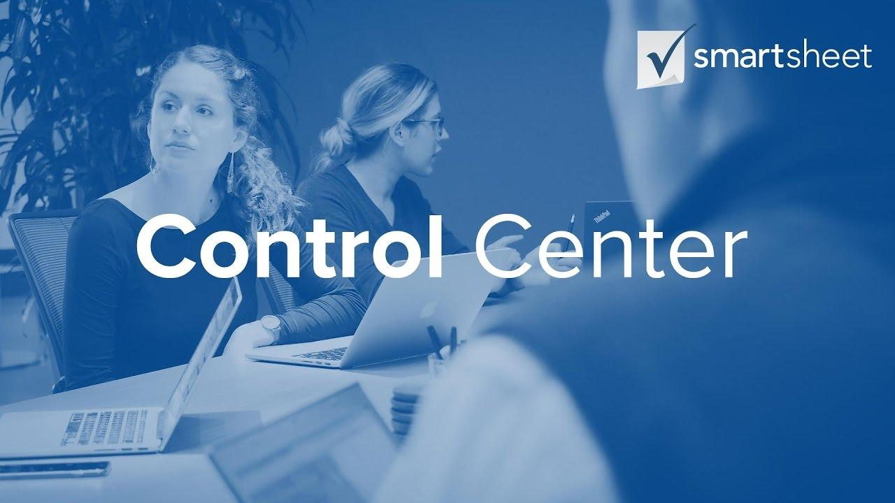 Deliver Project & Process Consistency with Smartsheet Control Center.
